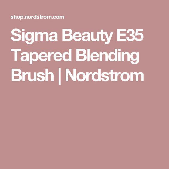 Sigma Beauty E35 Tapered Blending Brush | Nordstrom