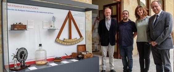 La Facultad de Ciencias inaugura la segunda fase de la 'Colección de antiguos instrumentos de laboratorio de Física' | Sala de Prensa