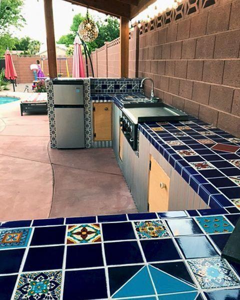 Top 15 Best Materials For Kitchen Countertops 2020 Outdoor Kitchen Countertops Kitchen Countertops Outdoor Kitchen