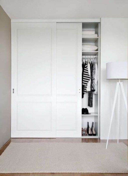 Amazing Sliding Door Wardrobe Design Ideas 28 In 2020 Sliding Door Wardrobe Designs Bedroom Closet Doors Bedroom Cupboards