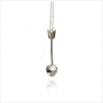 Cupid Heart Spoon Necklace - Jewellery - Women