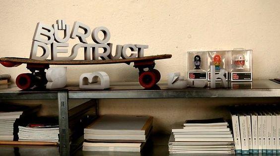 Buro Destruct's making of the font Edding 850. Nice video!