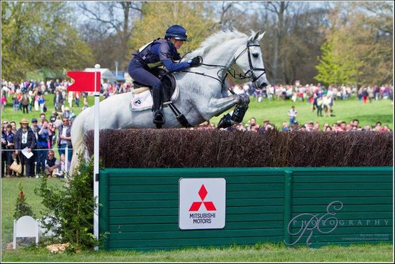 Vittoria Panizzon and Borough Pennyz - Badminton Horse Trials 2013