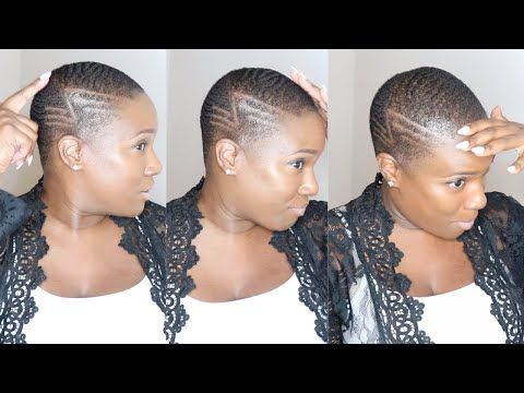 Natural Hair How To Get Waves For Beginners For Women Iamkelib Youtube In 2020 How To Get Waves Natural Hair Styles Hair Waves