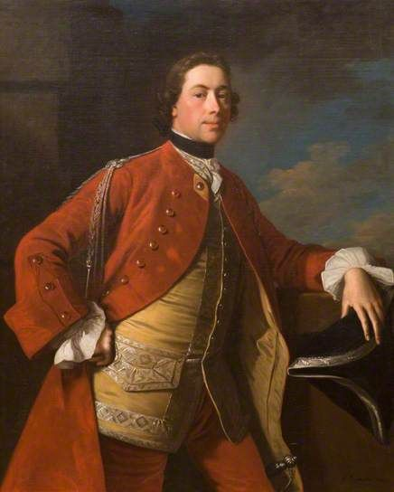 Edward Harvey (1718–1778) by Allan Ramsay, 1747 Oil on canvas, 127.3 x 101.6 cm Collection: Dundee Art Galleries and Museums Collection (Dundee City Council):