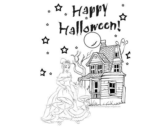 Disney Princess Halloween Coloring Pages Halloween Coloring Pages Coloring Pages Disney Princess Halloween