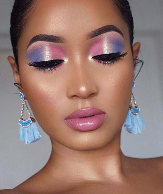 2019 Amazing Makeup Styles for Dark Skin