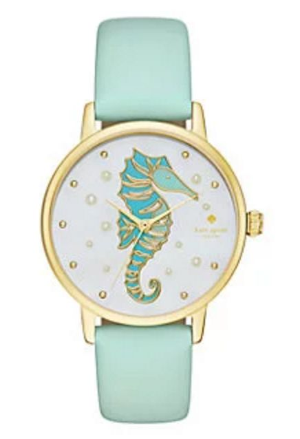 Mint Sea-Pony Wristwatch