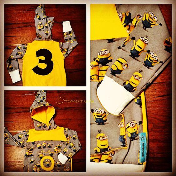 Minionalarm!!!!!!!  #sternenmerle #nähstubb #nähenfetzt #nähstube #nähenfürkids #nähenistliebe #nähenmachtglücklich #geburtstagsshirt #minions #minionslove #jogginghose #jersey #kindermode #kindersurprise