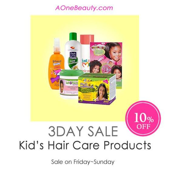 Amazing 3Day Sale 10 Off On All Kids Hair Care Until Sunday Discounted Hairstyles For Women Draintrainus