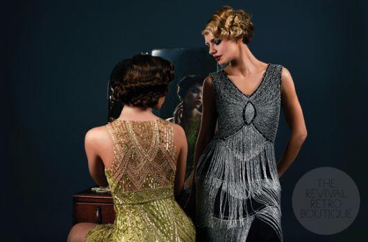 The Mulligan 1920s Dress Silver