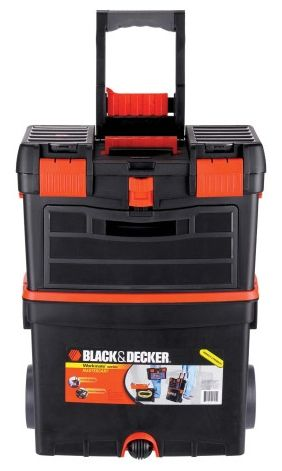Black Amp Decker Mastercart Rolling Tool Box For My Guy