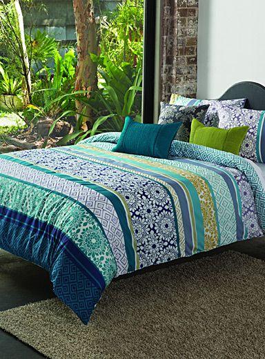 ensembles housse de couette et taies douillettes en ligne simons bed pinterest tentures. Black Bedroom Furniture Sets. Home Design Ideas