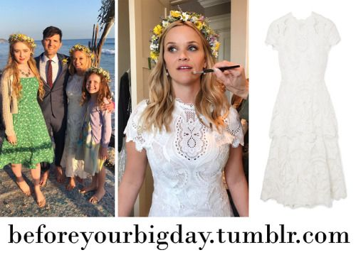 Madeline Reese Witherspoon S White Lace Dress From Big Little Lies Lace White Dress Lace Dress Sheath Wedding Dress Lace