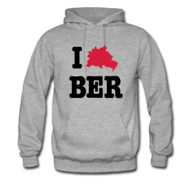 Hoodie I Love Berlin with city outlines - http://iloveberlin.spreadshirt.de/i-love-ber-berlin-hoodie-A22192065