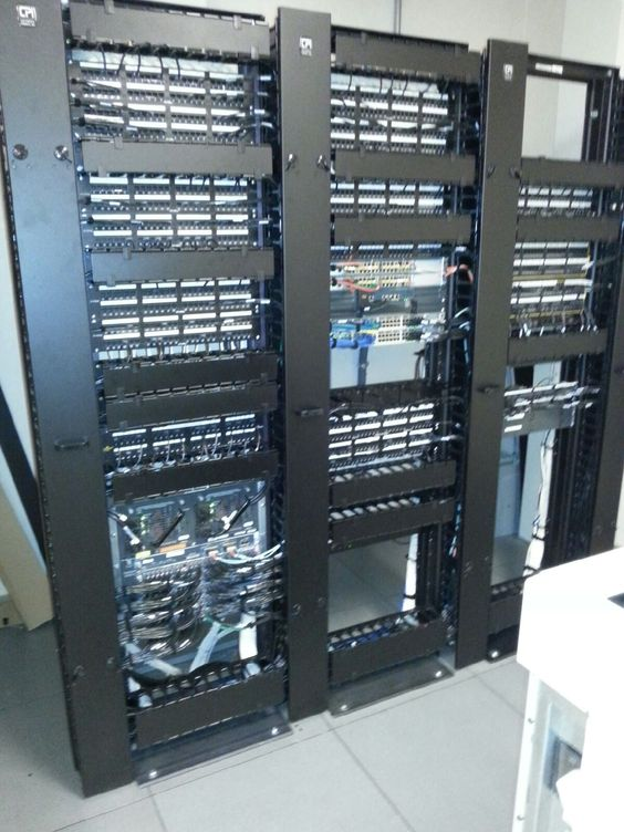 Fixing up a networking rack patch panels and Cisco