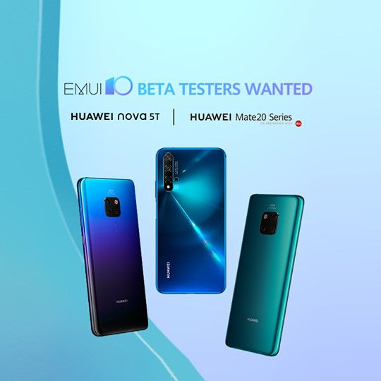 Huawei Will Rollout Emui 10 Beta To Mate 20 Series And Nova 5t For Global Users On October 8