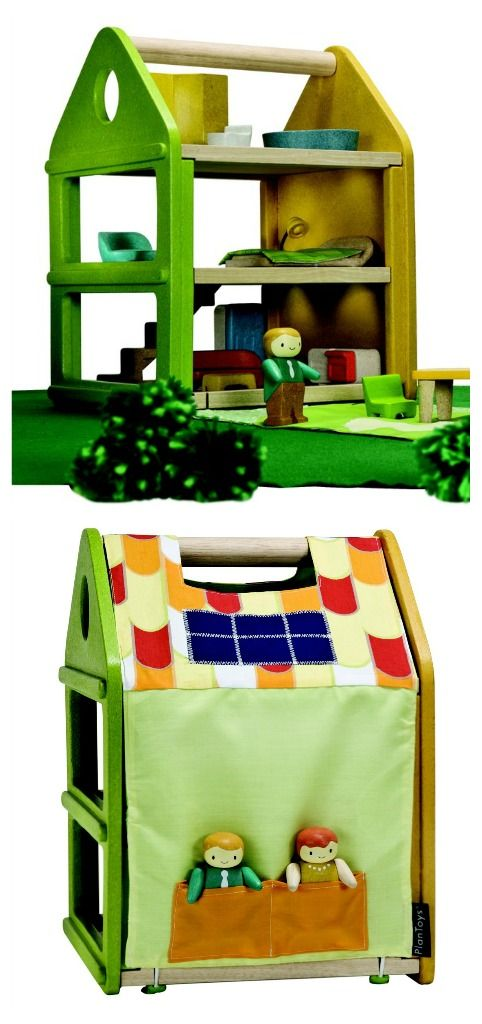 Plan Toys play house - coming out this year - gender neutral and awesome!