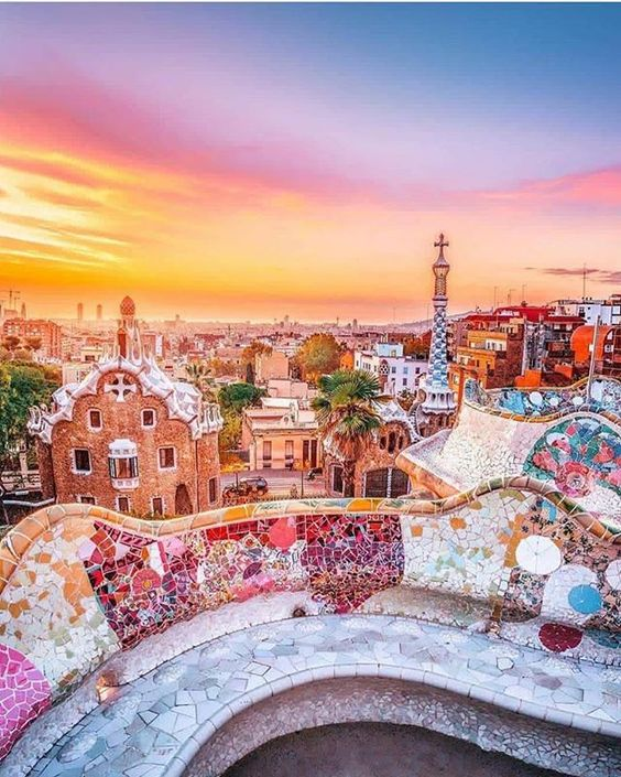 : @hebenj : Parc Guell Barcelona Spain #instagood #nature #photography #photooftheday #travel #world #sky #sea #beauty