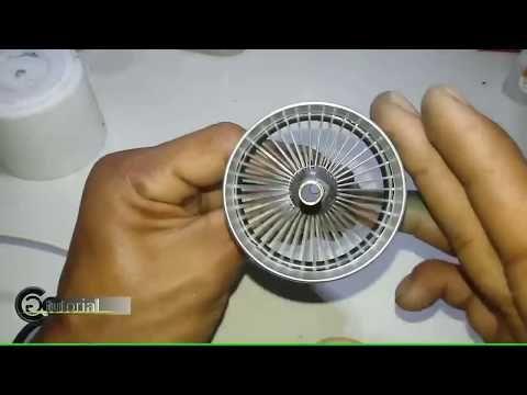 Miniatur Mesin Mobil