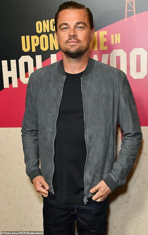 Leonardo DiCaprio's style with beard