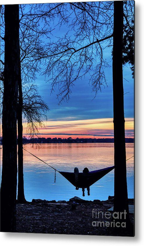 Romantic Sunset At The Lake By Amy Dundon This Image Features A Warm Winter Evening Sunset At Lake Norman In 2020 Romantic Sunset Beautiful Wall Art Fine Art America