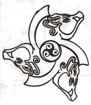 tattoo simbolo celtico significato cinghiale