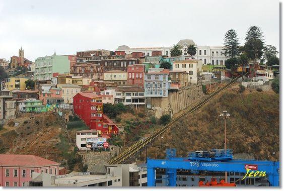 바람의 지혜 :: 칠레의 아름다운 달동네, 부산을 닮은 도시 발파라이소(valparaiso)에 가다