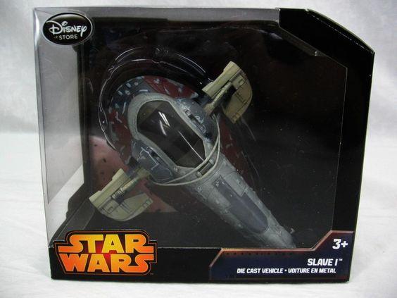Disney Star Wars Slave I Die Cast Metal Vehicle NIB Jango Fett Boba Fett #Disney