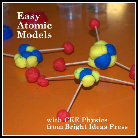 Play Doh Atoms
