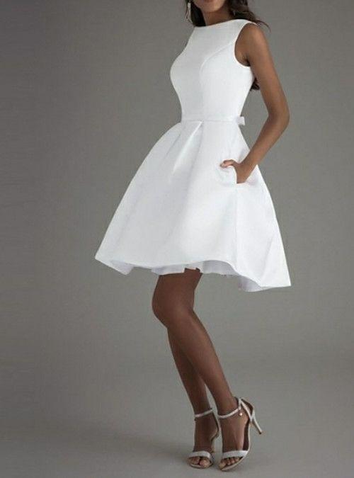 40+ White knee length dress ideas in 2021