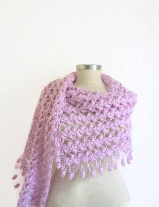 Chal Lila diseño nueva temporada bufanda bolero por modelknitting