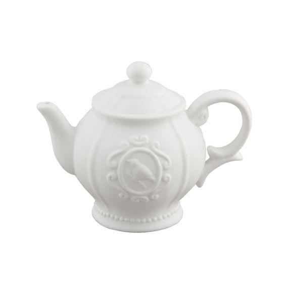 Tischlampe Teekanne von Clayre & Eef   Mit dieser hübschen Tischlampe von Clayre & Eef (6LMP315) aus Keramik in Form einer Tee-/Kaffeekanne setzen Sie nicht nur Ihre Küche ins rechte Licht.   Die Lampe hat ein weißes Anschlusskabel mit einem Schnurzwischenschalter. Die Fassung ist für ein E14 Leuchtmittel mit max. 60Watt ausgelegt.   Die Maße betragen in der Höhe 24cm, in der Breite 28cm und 17cm in der Tiefe.     35,99 €  Gesamtpreis, zzgl. Versandkosten  verfügbar   1 - 3 Tage