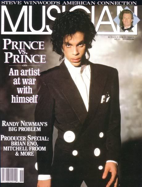 Image result for 1988 prince musician magazine