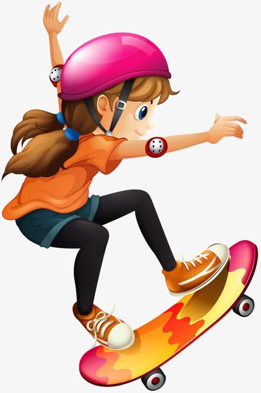 Girl Skateboard Helmet Timer Skateboarding Clipart Girl Clipart Mario Characters Character Skateboard Girl