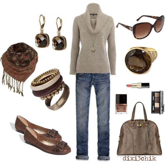Not sure that I could pull this off, but I wish I could!    Relaxed, created by dixi3chik.polyvore.com