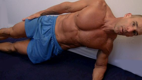 Planks, great for the abbs--safe on the back