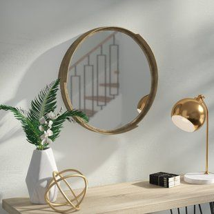 Small Frameless Mirror Joss Main Contemporary Wall Mirrors Mirror Wall Framed Mirror Wall