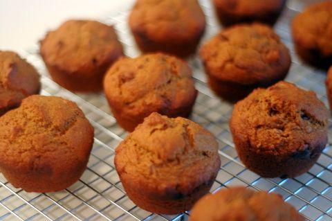 Pumpkin muffins 3 points.