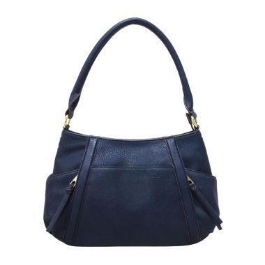 Liz Claiborne® City Top-Zip Shoulder Bag  found at @JCPenney. I want this bag but in gray !