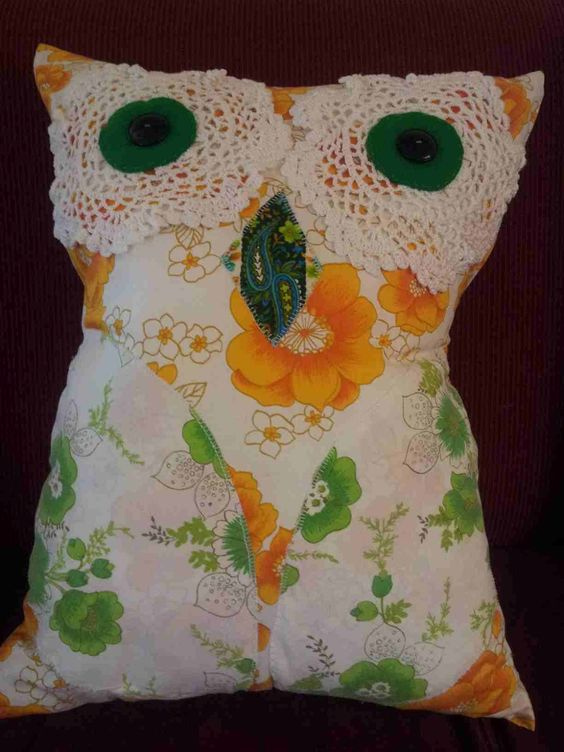 Hootie Hoot the Owl  365 Reasons not to die with a full craft cupboard: Best Friends, Full Craft, Fun Diys, Friend Shawna, Craft Cupboard, Dyi Crafts, Craft Ideas, Diy Pillows