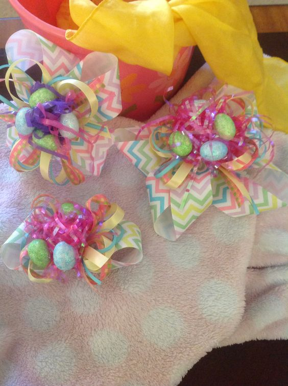 Easter egg hunt bow!