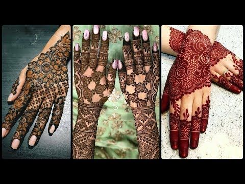 back hand arabic mehndi design 2020