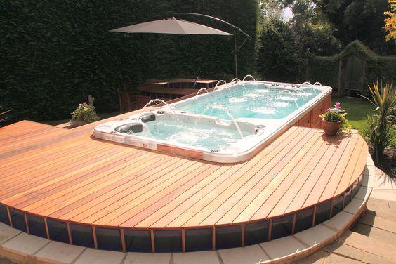 Inground Swim Spa Swim Spas Pinterest Beautiful