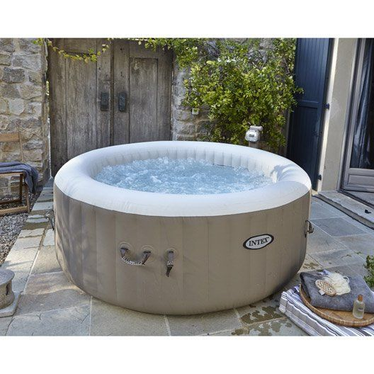 Spa gonflable INTEX Purespa bulles rond, 4 places assises