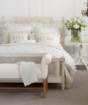Love ethan allen 39 s signature lifestyle romance living space ideas pinterest for Ethan allen country french bedroom