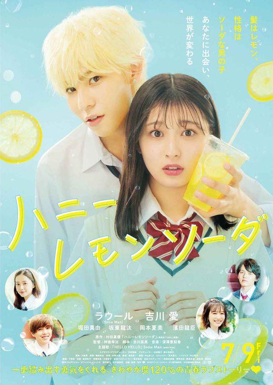 Phim Live-Action Honey Lemon Soda Tiết Lộ Video Hậu Trường