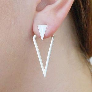 Sterling Silver Diamond Two Way Earring Jackets