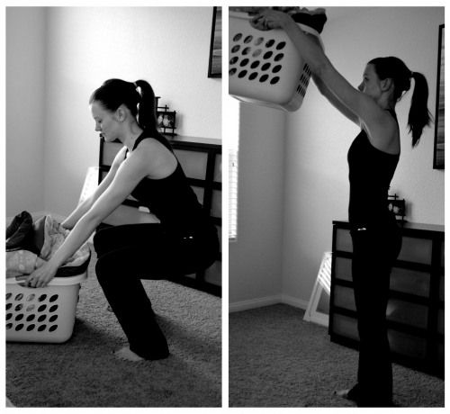 quick exercises that you can do around the house (or anywhere) any time (no excuses!)