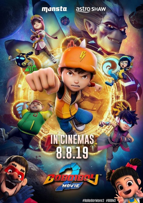 Eng Sub Boboiboy The Movie 2 Full Movie Maxhd Online 2019